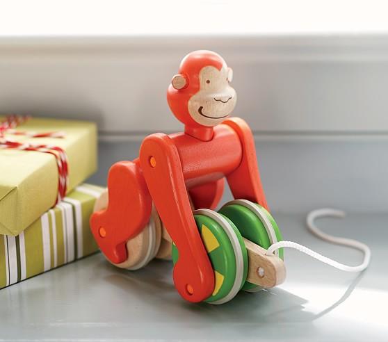 Monkey Pull Toy