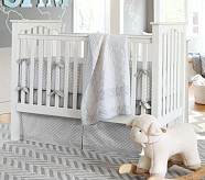 Reagan Nursery Quilt Bedding Set: Toddler Quilt, Crib Skirt & Crib Fitted Sheet