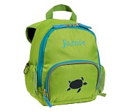 Preschool Fairfax Backpack, Green/Turquoise, Navy Turtle