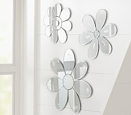 Flower Mirrors, Small Flower Mirror