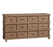 Owen Extra Wide Dresser, Sand Washed Taupe