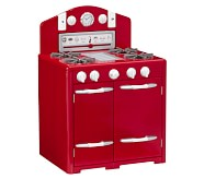 Retro Kitchen Oven, Red