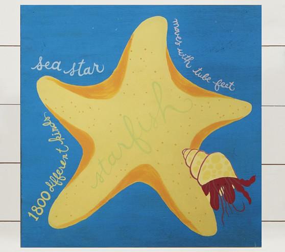 Starfish Surf Plaque