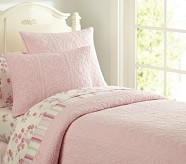 Whitney Quilt, Twin, Pink