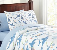 Shark Duvet Cover, Twin