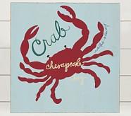 Crab Surf Plaque