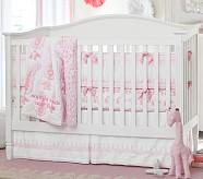 Elyse Nursery Quilt Bedding Set: Toddler Quilt, Crib Skirt & Crib Fitted Sheet