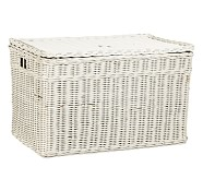 Sabrina Toy Chest, Simply White