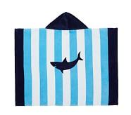 Stripe Shark Baby Beach Wraps
