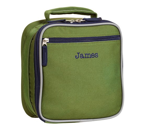 Fairfax Green Lunch Bag, No Patch