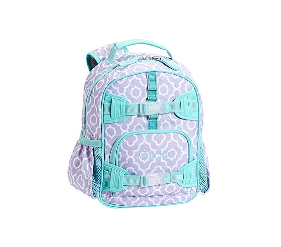 Mackenzie Lavender Moroccan Geo Mini Backpack