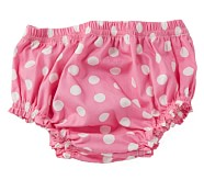 Pink Dot Diaper Cover, 6-12 Months
