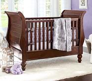 Meredith Nursery Bedding Set: Crib Fitted Sheet, Toddler Quilt & Crib Skirt