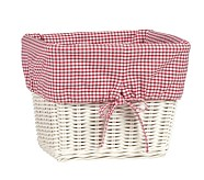 Large Gingham Liner, Red
