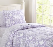Loft Butterfly Quilt, Lavender, Twin