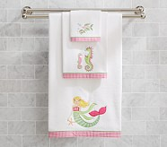 Mermaid Bath Towel Collection, Set of 3