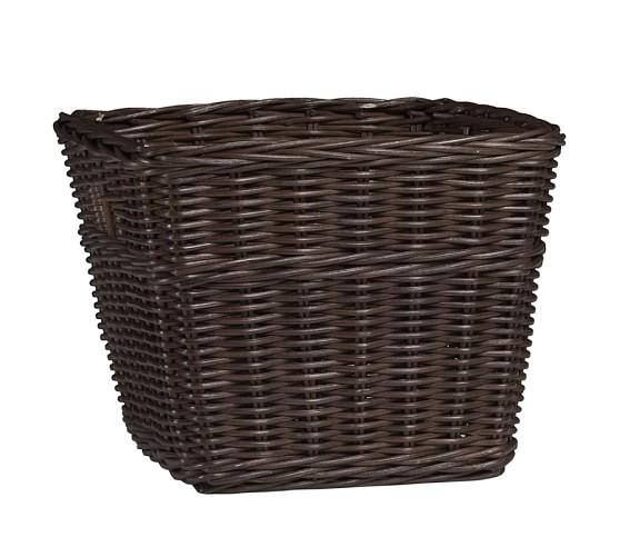 Sabrina Basket Collection, Large, Espresso