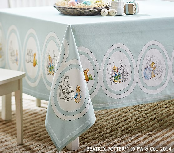 Easter Tablecloth Pottery Barn Kids