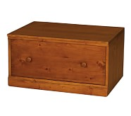 Cameron Wall System Drawer Base, Sun Valley Honey