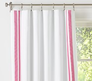 "Harper Blackout Panel 44 x 63"" Bright Pink"