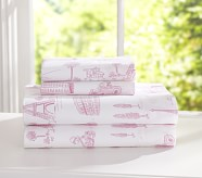 Priscilla Sheet Set, Twin, Pink