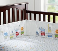Circus Friends Crib Fitted Sheet