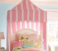 Awning Stripe Tent Canopy, Pink Stripe
