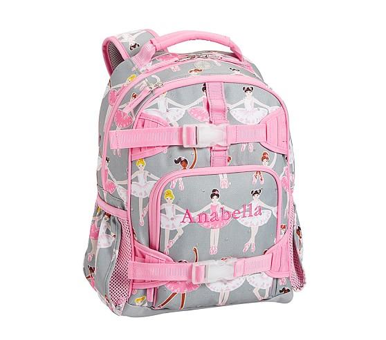 Mackenzie Glitter Ballerina Backpacks Pottery Barn Kids