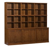 Cameron Counter Cabinet Base Storage System, Sun Valley Honey