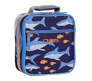 Mackenzie Blue Shark Classic Lunch Bag
