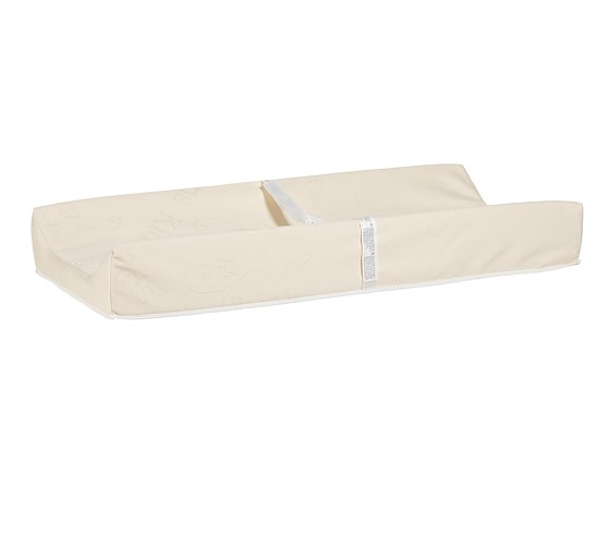 Organic Solid Changing Pad Cover, Ivory