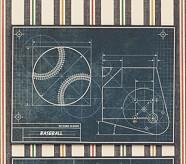 Sports Blueprint Art, Baseball