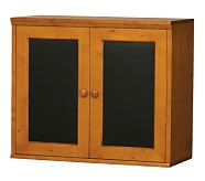Cameron Creativity Storage System Cabinet with Chalkboard Doors, Sun Valley Honey