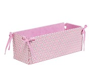Reversible Changing Table Storage, Pink Geo