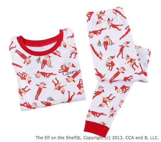 <em>The Elf on the Shelf</em>&#174; Pajamas Size 6