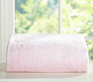 Chamois Fitted Sheet, Full, Pink