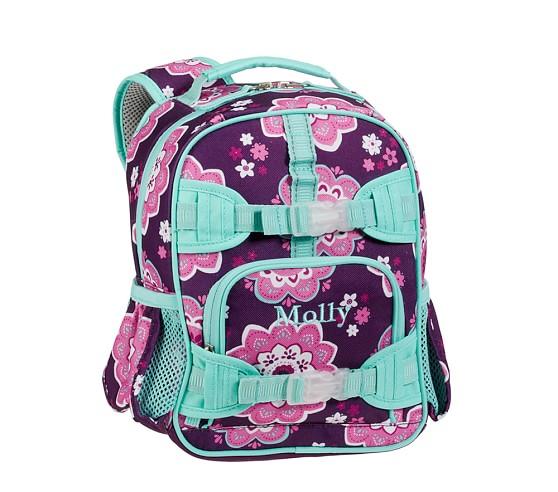 Mackenzie Plum Boho Mini Backpack