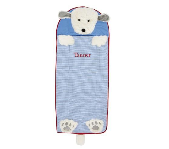 Animal Toddler Sleeping Bag, Blue