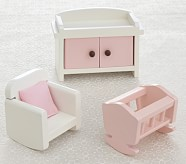 Dollhouse Nursery Accessory Set