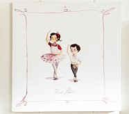 Ballet Positions Canvas, Fourth Position