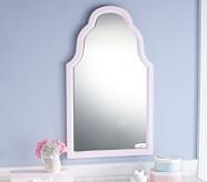 White Large Emma Mirror