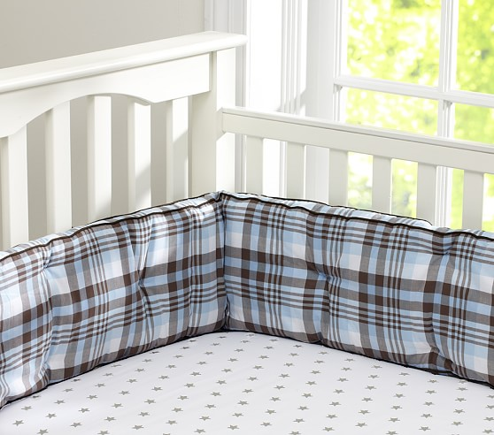 Star Crib Fitted Sheet, Gray