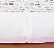 Safari Friends Crib Skirt