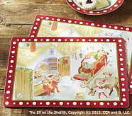 <em>The Elf on the Shelf</em>&#174; Placemat