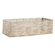 Silver Rope Basket Cameron Base
