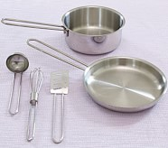Metal Pots & Pans Set