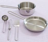 Metal Pots & Pans Set