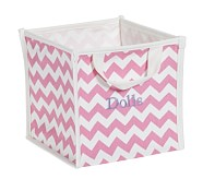 Pink Harper Chevron Pop Up Tote