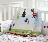 Winter Wonderland Nursery Quilt