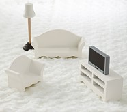 Dollhouse Living Room Accessory Set